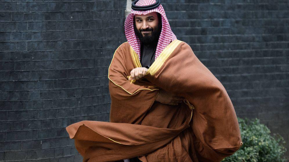 Foto: Mohamed Bin Salman, heredero al trono saudí, en Londres. (Getty)