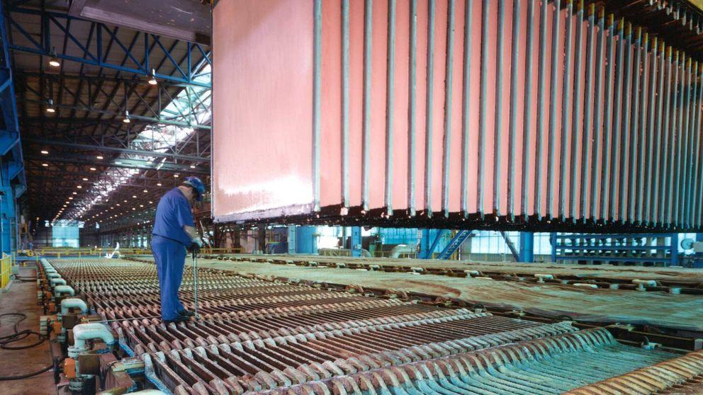 Atlantic Copper, en Huelva, se convierte en la fundición más eficiente del mundo