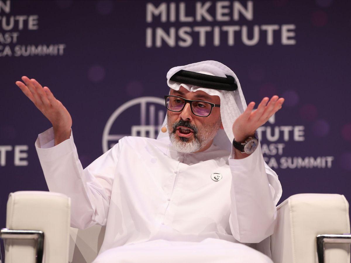 Foto: CEO de Mubadala, Waleed Al Mokarrab Al Muhairi. (Reuters)
