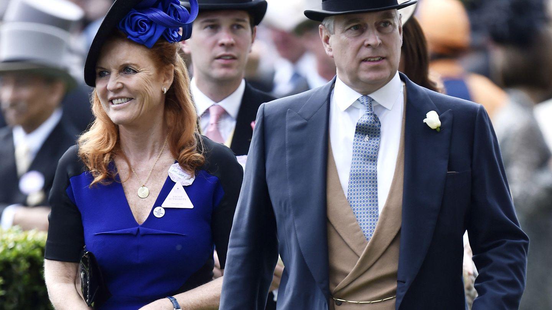 Sarah Ferguson y el príncipe Andrés en una imagen de archivo. (Reuters)