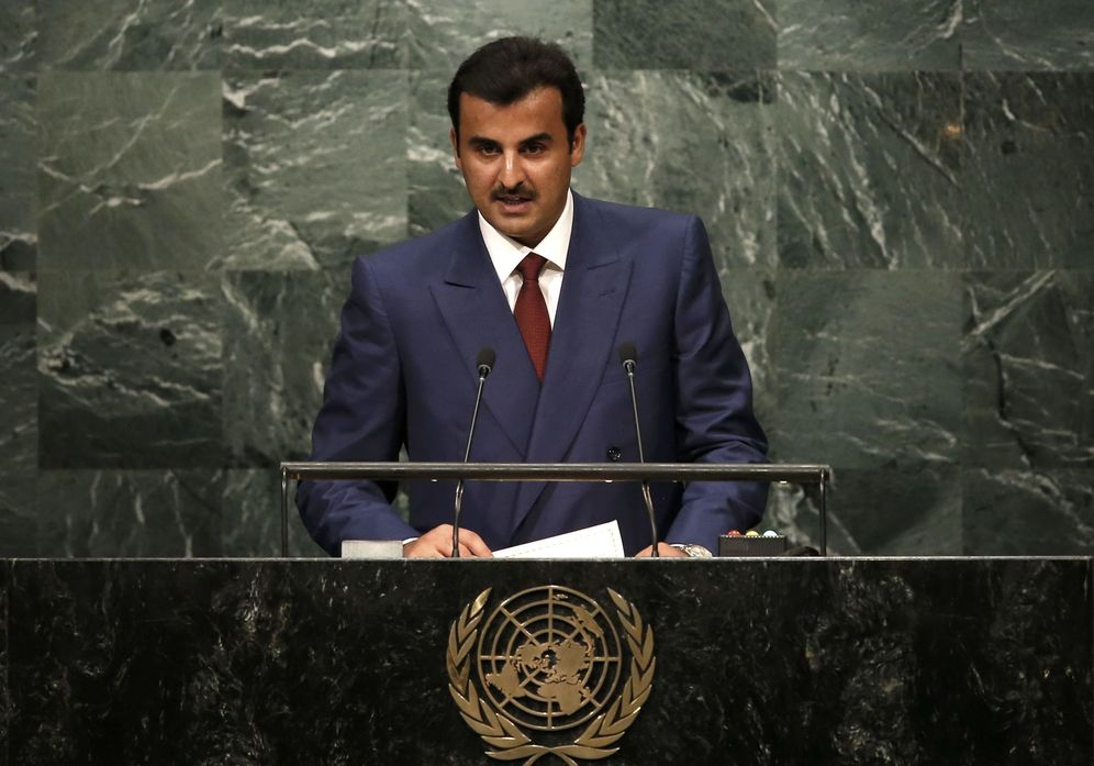 Foto: En la imagen, Tamim bin Hamad Al Thani, emir de Qatar. (Reuters)