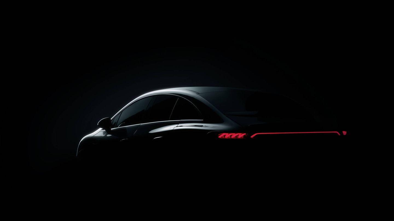 Es la única fotografía existente del Mercedes-Benz EQE. Sí se sabe que de esta berlina derivarán próximamente varios modelos de carrocería SUV.