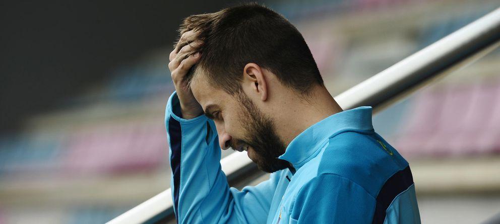 Foto: El Barcelona necesita al mejor Piqué (GTres).