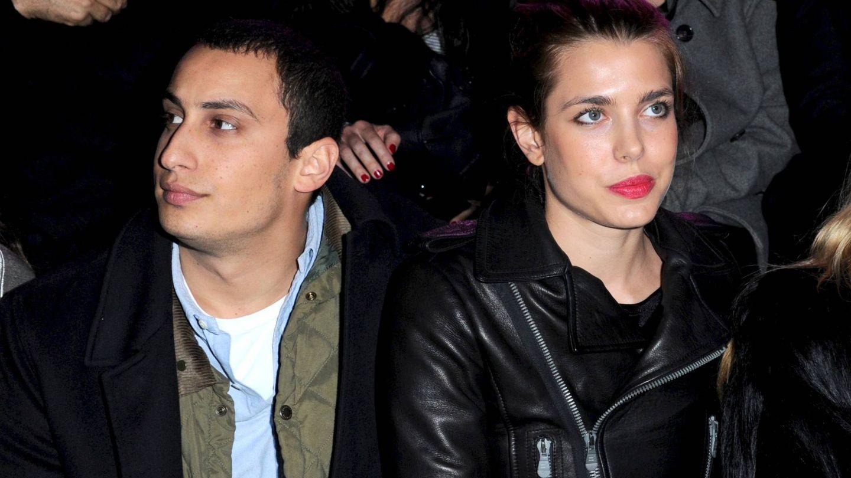 Carlota con Alex Dellal. (CP)