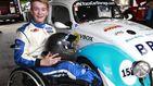 La joven promesa de la Fórmula 1 que se quedó sin sus dos piernas vuelve a pilotar