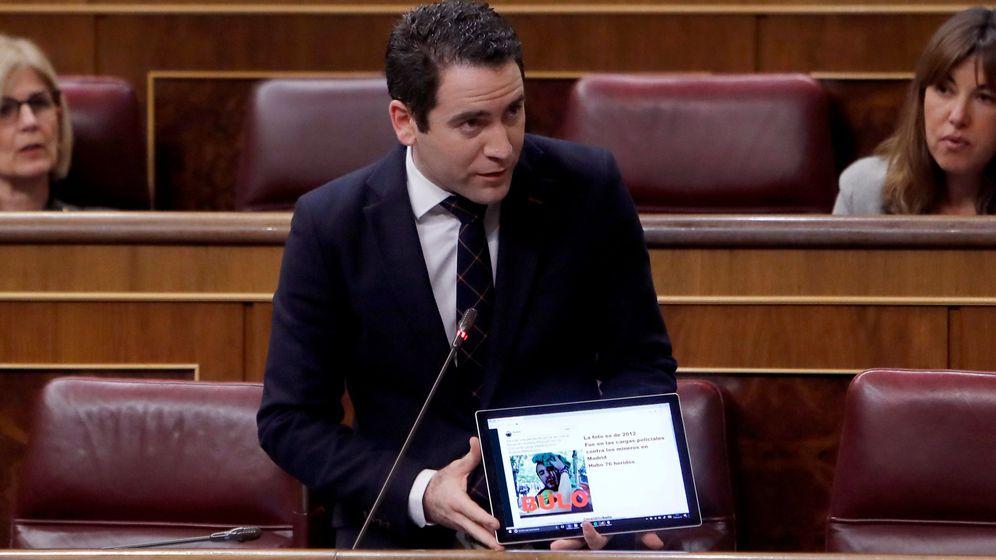 Foto: l diputado del PP, Teodoro García Egea, nuevo secretario general del PP. (EFE)