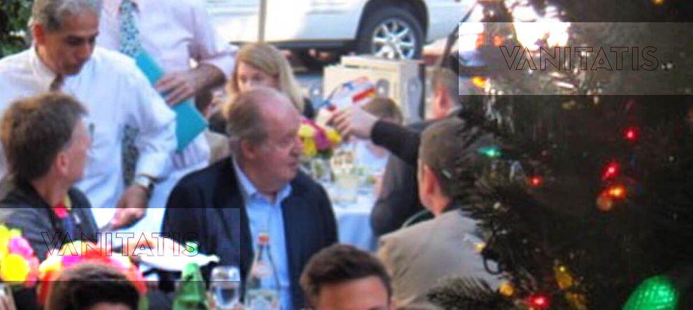Foto: Don Juan Carlos en el restaurante The Ivy en Beverly Hills (Vanitatis)