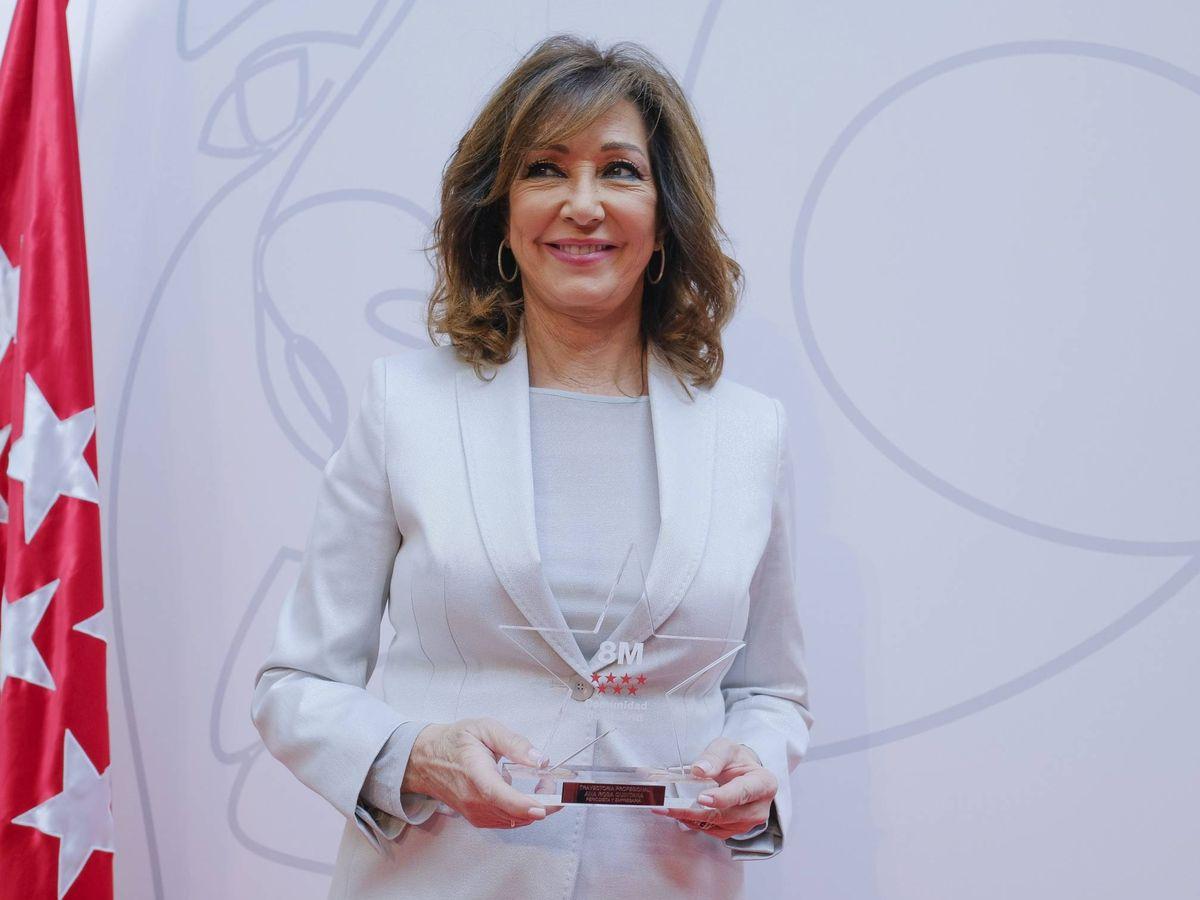 Foto: Ana Rosa Quintana, en marzo de 2020. (Cordon Press)