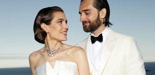 Post de La norma que Carlota Casiraghi puso en su boda y que los invitados se saltaron