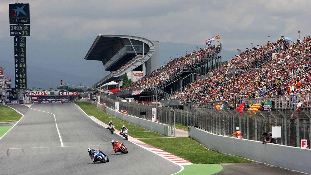 Foto: Montmeló, durante un Gran Premio del Mundial de MotoGP. (EFE)