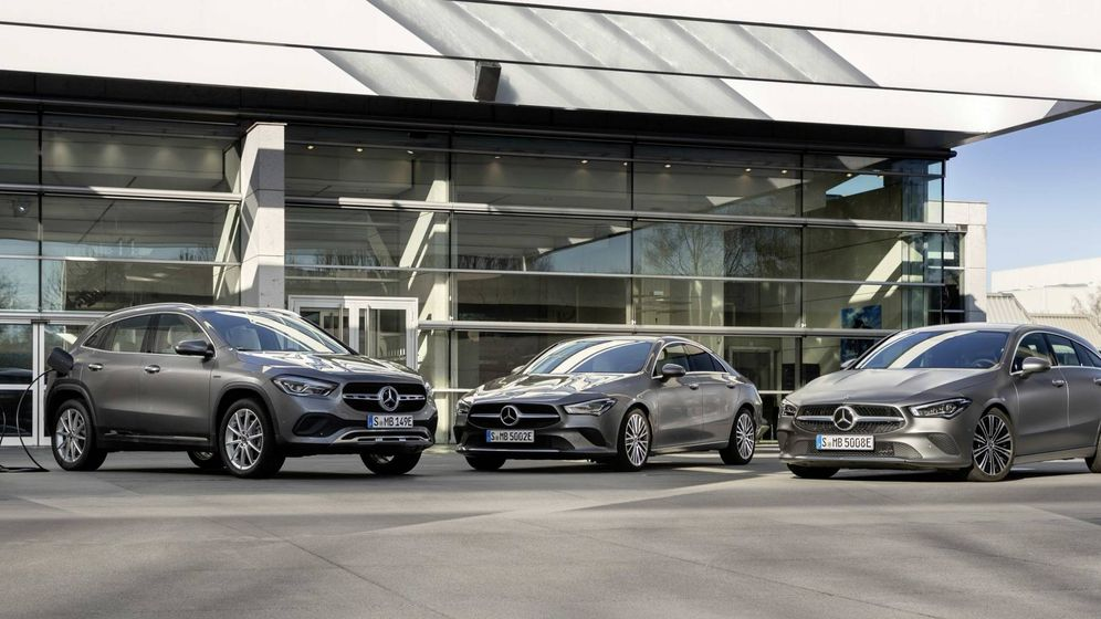 Foto: Nuevas versiones EQ Power en la gama Mercedes, GLC y GLC Coupé, CLA y CLA Shooting Brake.