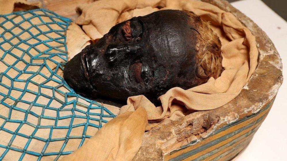 Foto: Imagen de Takabuti, la momia egipcio de hace más de 2.600 años. (Universidad de Mánchester)
