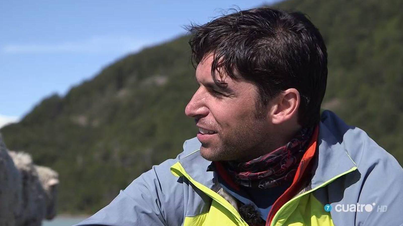 Foto: Cayetano Rivera viajó hasta la Patagonia en 'Planeta Calleja'.