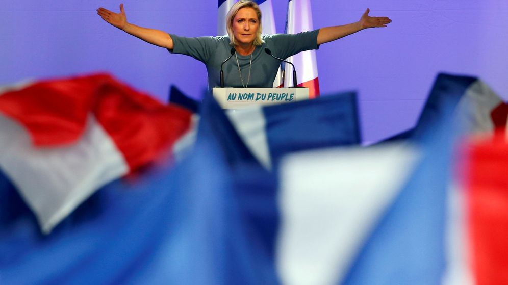 Foto: Marine Le Pen, líder del Frente Nacional, en un mitin. (Reuters)
