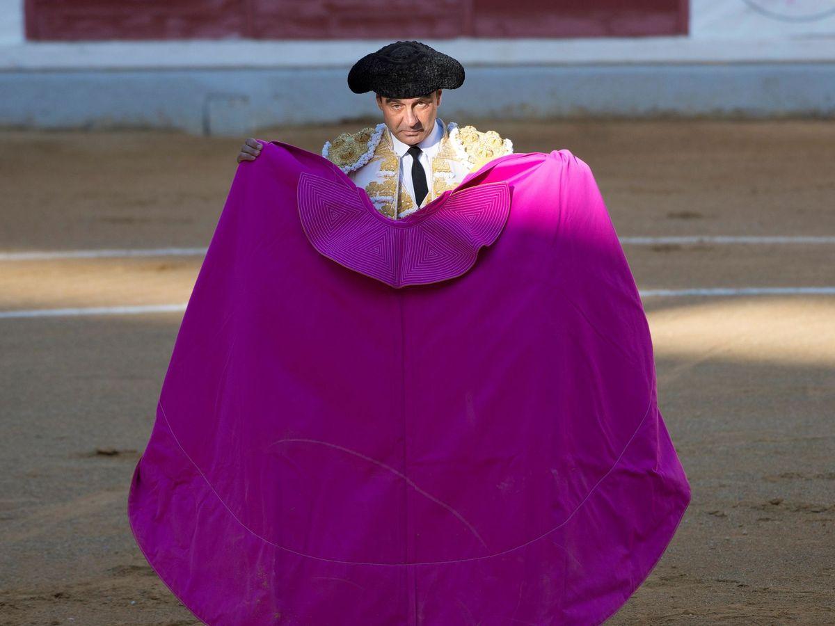 Foto: Enrique Ponce, en la Feria de San Lucas en Jaén. (EFE)