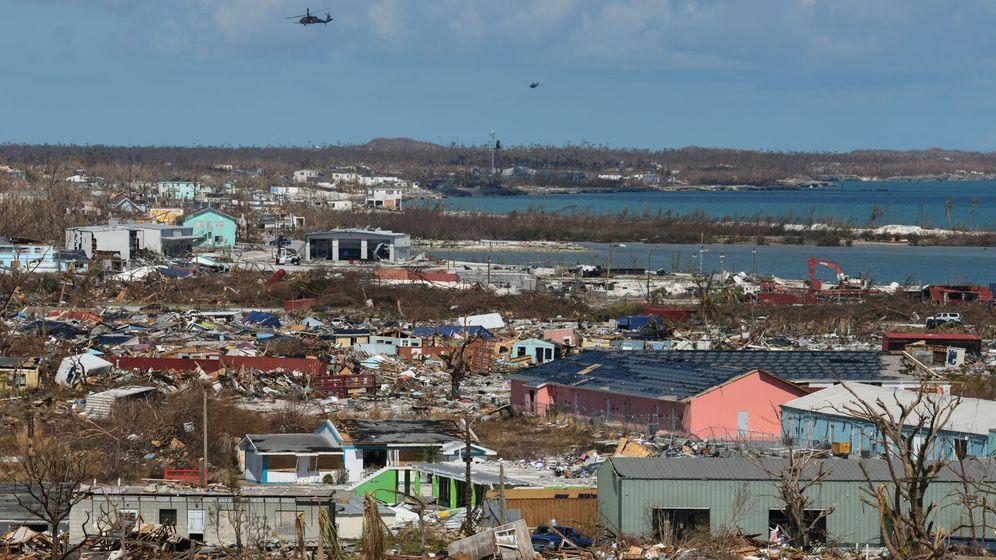 Foto: Los destrozos que ha dejado a su paso el huracán Dorian en Great Abaco, Bahamas. (Reuters)