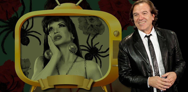 Foto: Pepe Navarro y la Veneno en un fotomontaje de Vanitatis