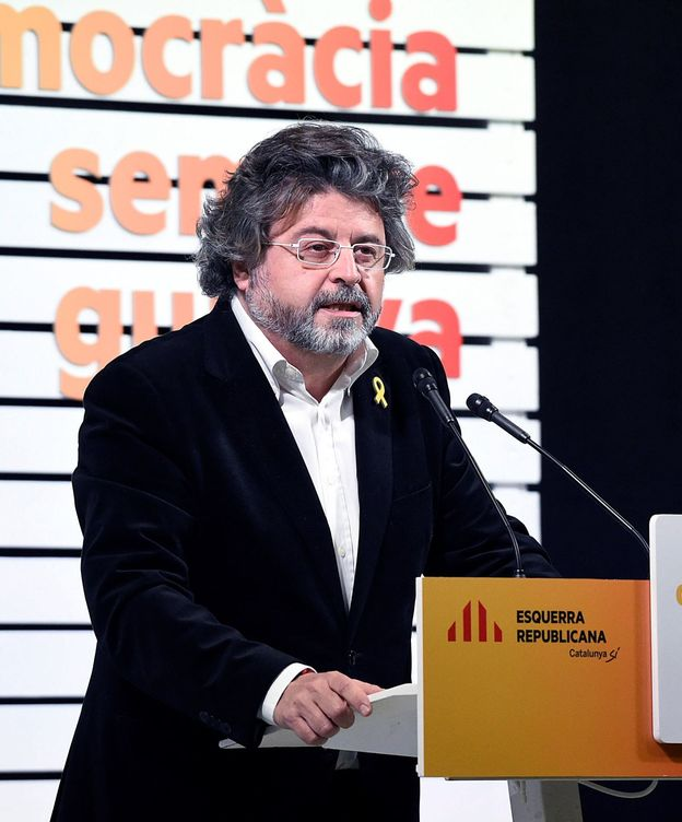 Foto: El portavoz de Demòcrates y diputado electo por ERC, Toni Castellà. (EFE)