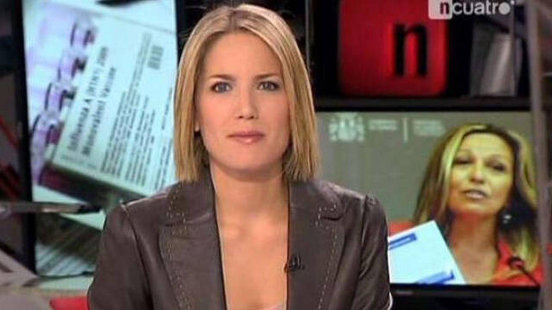 Silvia Intxaurrondo en 'Noticias cuatro'. (Cuatro)