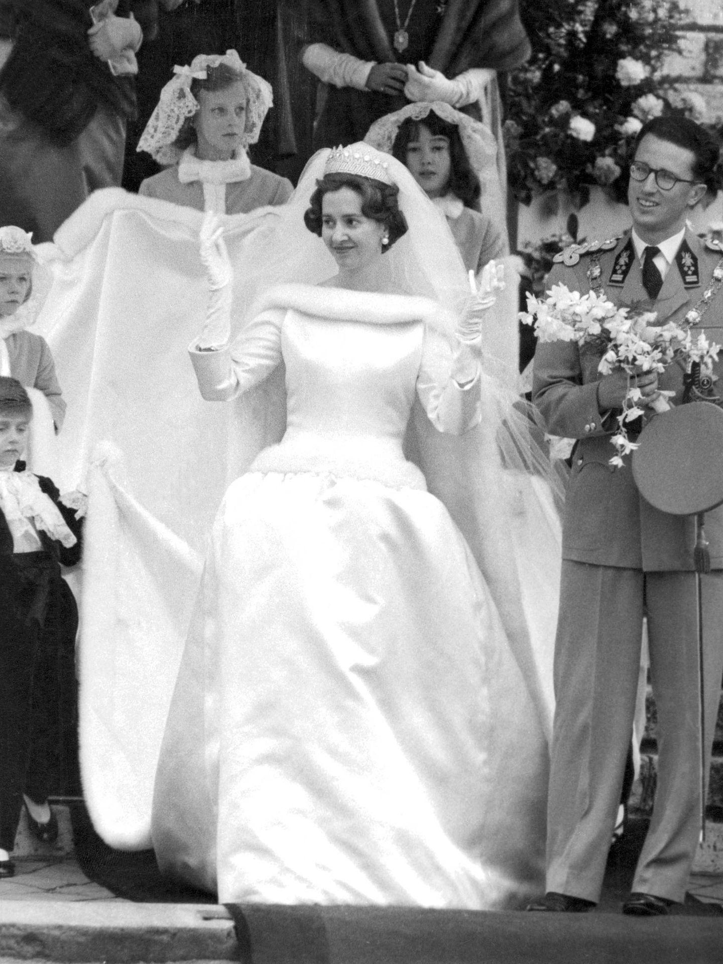 La boda de Balduino y Fabiola. (Cordon Press)