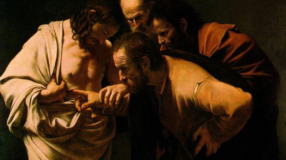Foto: La incredulidad de Santo Tomás, de Caravaggio (C.C.)