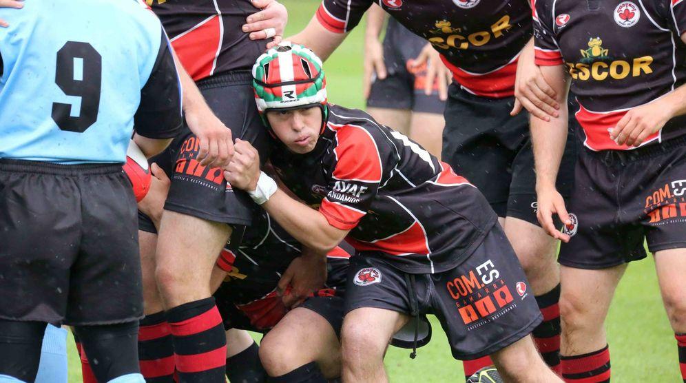 Foto: El Escor Gaztedi RT, pionero en el rugby de inclusión. (Escor Gaztedi RT)