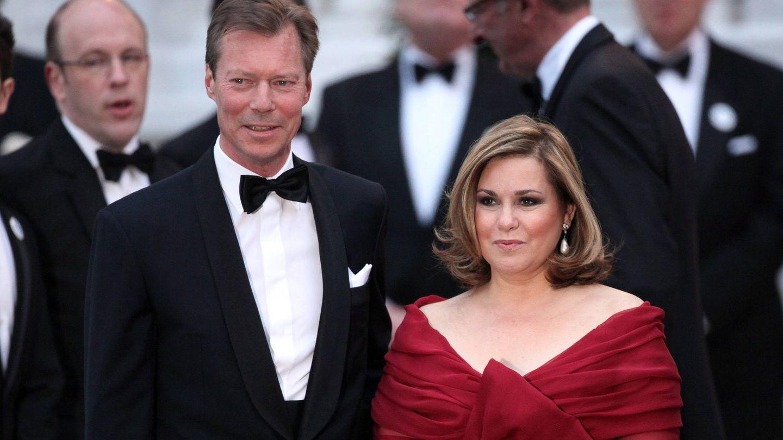 El duque Enrique y la duquesa María Teresa de Luxemburgo en 2011. (EFE)