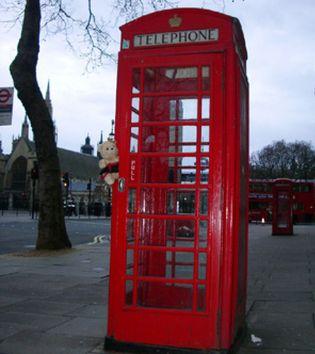 Foto: En peligro de extinción las famosas cabinas telefónicas rojas del Reino Unido