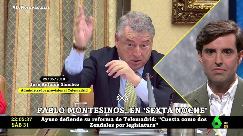 Pablo Montesinos, en 'La Sexta noche'. (Atresmedia).