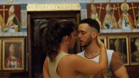 C. Tangana junto a Nathy Peluso en el videoclip de 'Ateo'