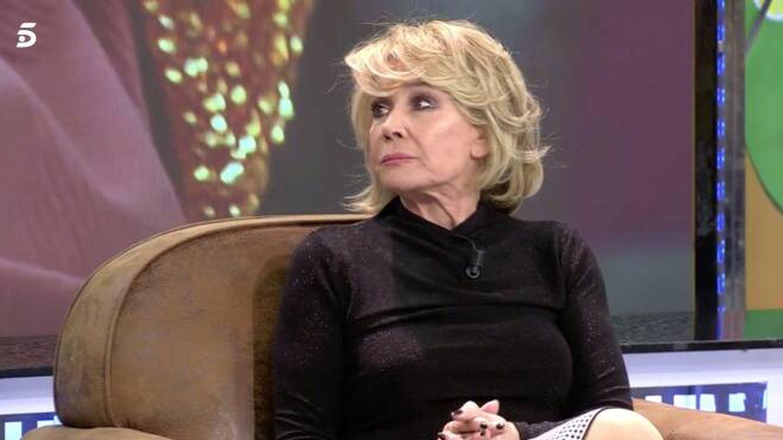Mila Ximénez, en 'Sálvame'. (Telecinco)