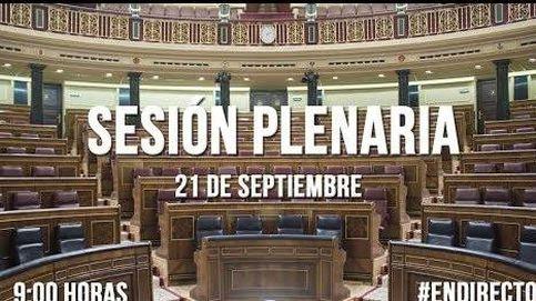 Siga en directo la sesión del Congreso de los Diputados