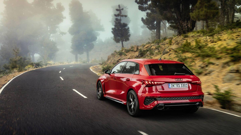El precio del RS 3 Sportback es ligeramente inferior al de su hermano con maletero separado: a partir de 74.870 euros.