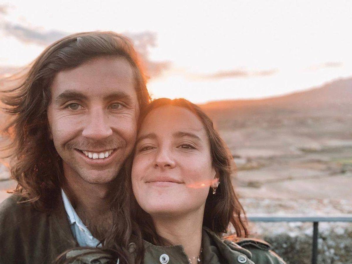 Foto: Marta Pombo y Luis Giménez, en una imagen de archivo. (Redes)