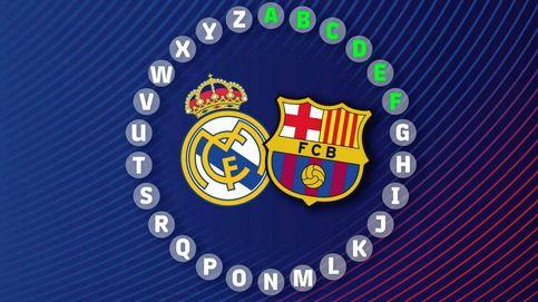 ¿Sabes todo del Real Madrid y el Barcelona? Juega al rosco de Pasapalabra del 'Clásico'