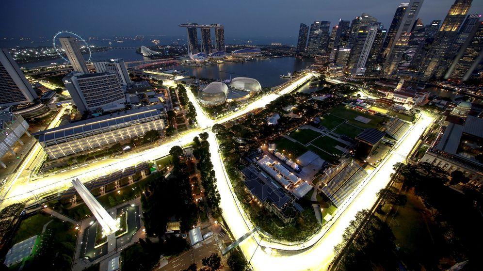 Circuito Callejero De Marina Bay : Fórmula 1: gp singapur de f1 2018: horario y dónde ver la carrera