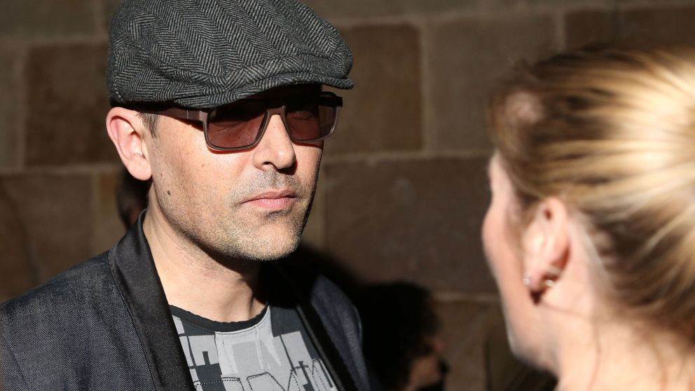 Risto Mejide acude a la 080 Barcelona Fashion para apoyar a Laura Escanes