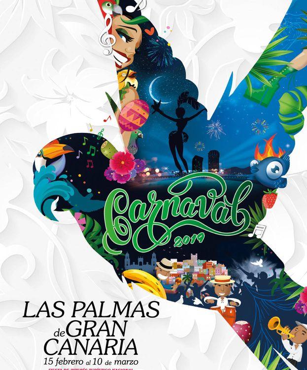 Foto: Cartel del Carnaval de Las Palmas de Gran Canaria 2019