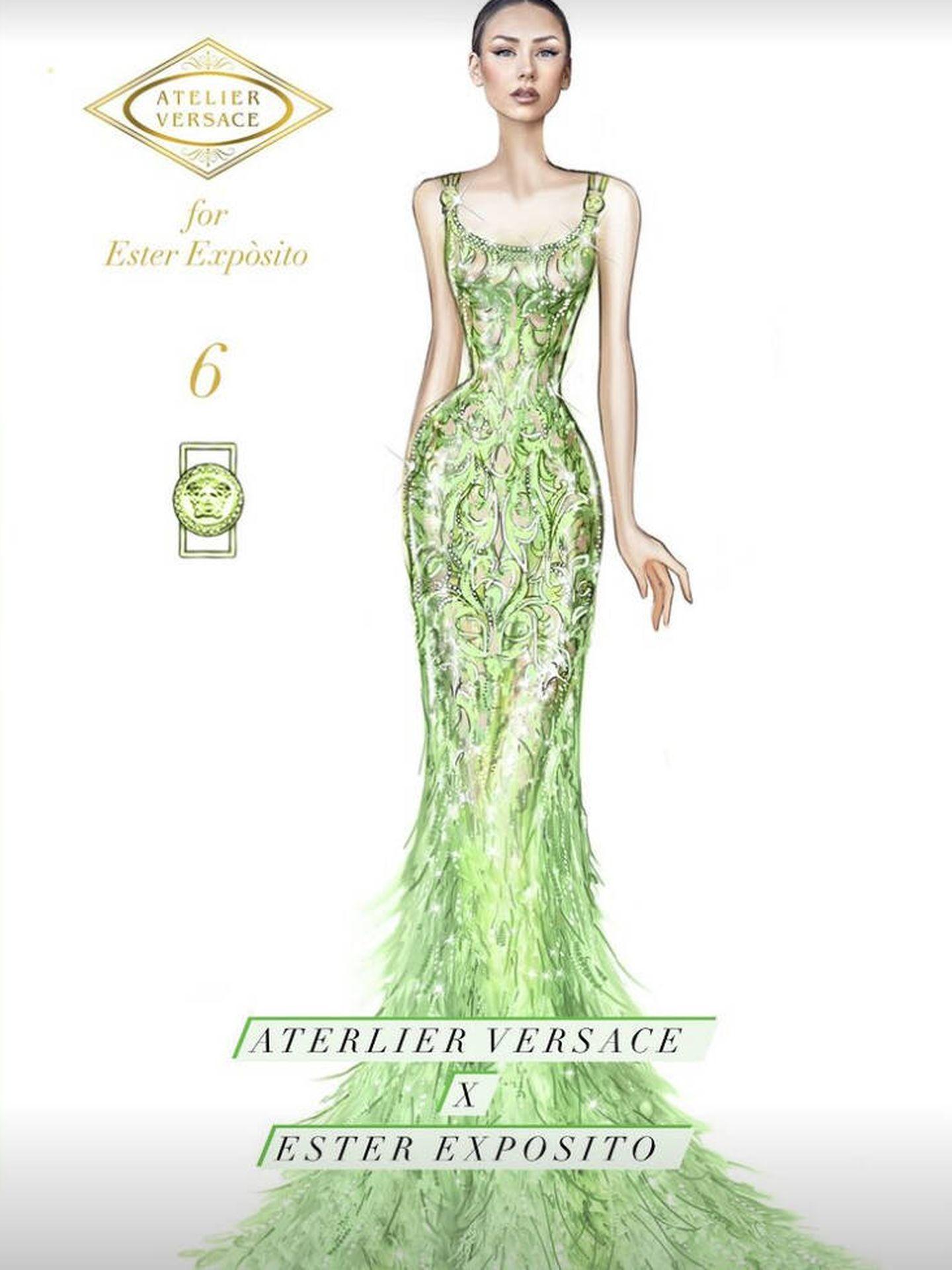 Boceto de Atelier Versace