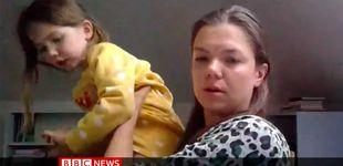 Post de Una niña interrumpe a su madre en la BBC para enseñarle su unicornio