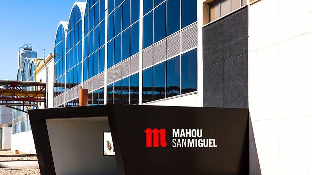 Foto: Fábrica de Mahou San Miguel.