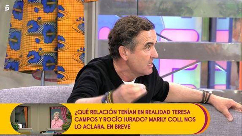 Antonio Montero, en 'Sálvame'. (Telecinco)