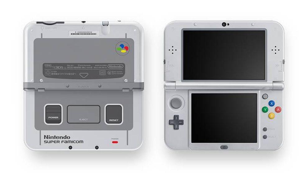Nintendo no olvida: lanza la Nintendo 3DS XL SNES Edition
