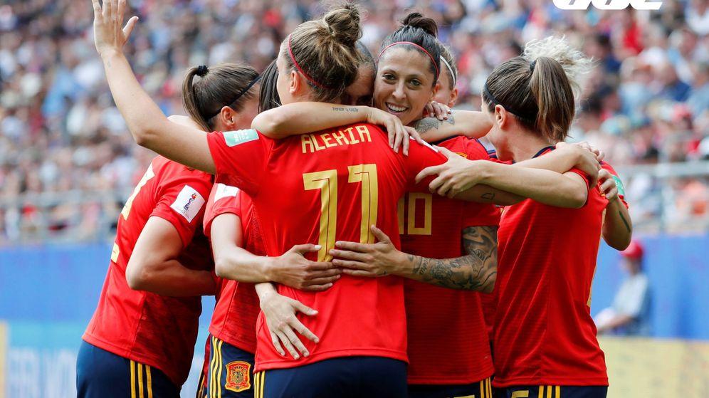 Foto: La selección española femenina en el Mundial de Francia 2019. (Gol)