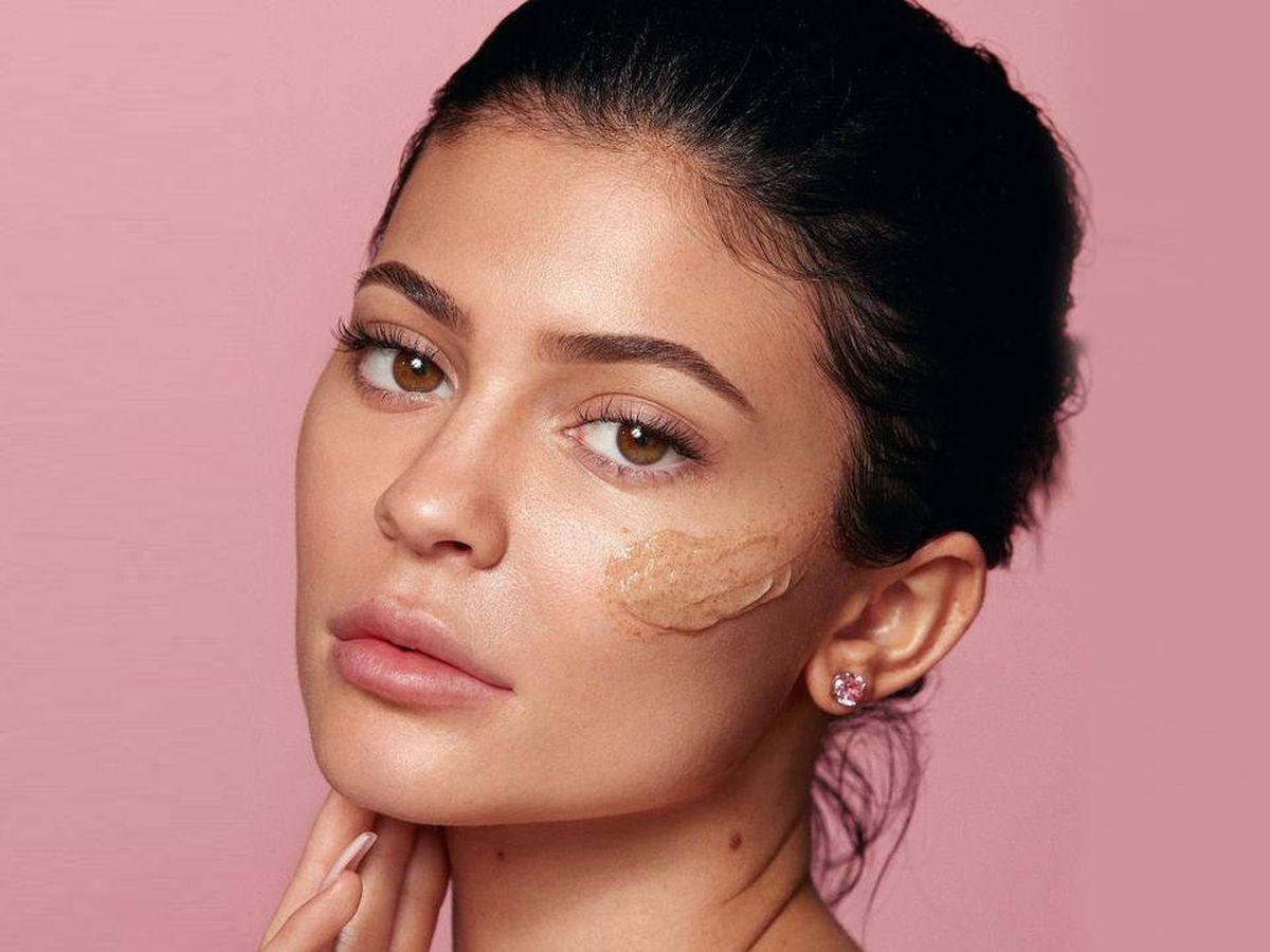 Foto: Kylie Jenner en la campaña promocional de Kylie Skin. (Cortesía)
