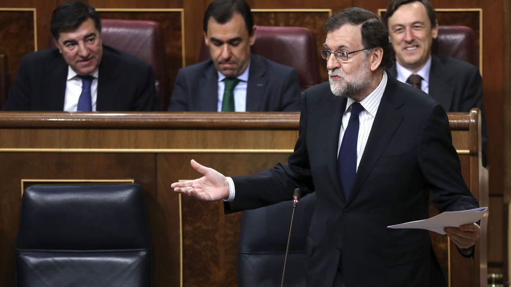 Foto: Mariano Rajoy en la sesión de control del Congreso. (EFE)
