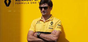 Post de Renault y el cuidado a Sainz: