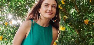 Post de Mango y su nuevo vestido verde nos hacen soñar con los viajes y vacaciones de verano de 2020