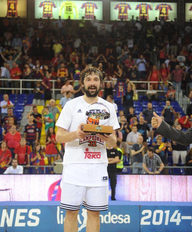 Foto: Es el tercer 'MVP' de Llull en el Madrid (Foto: ACB Photo)