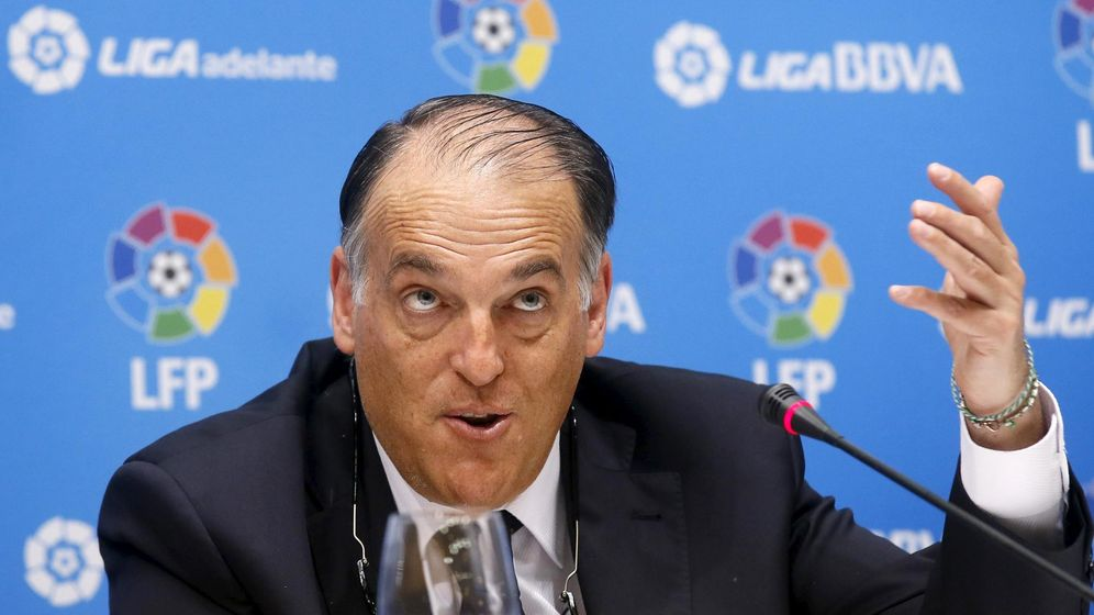 Foto: Los presidentes de la Liga no soportan más a Villar: No nos sentimos representados